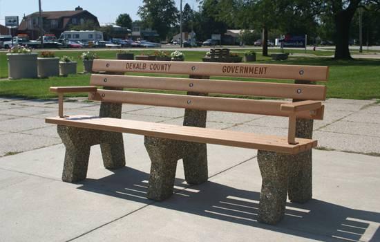 Bench Options Doty Concrete