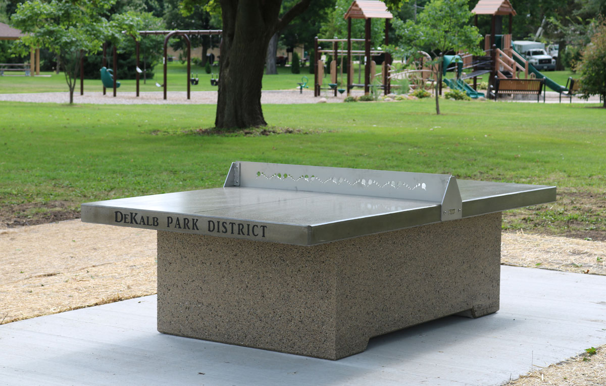 Outdoor Ping Pong Table For Dekalb Park District Doty