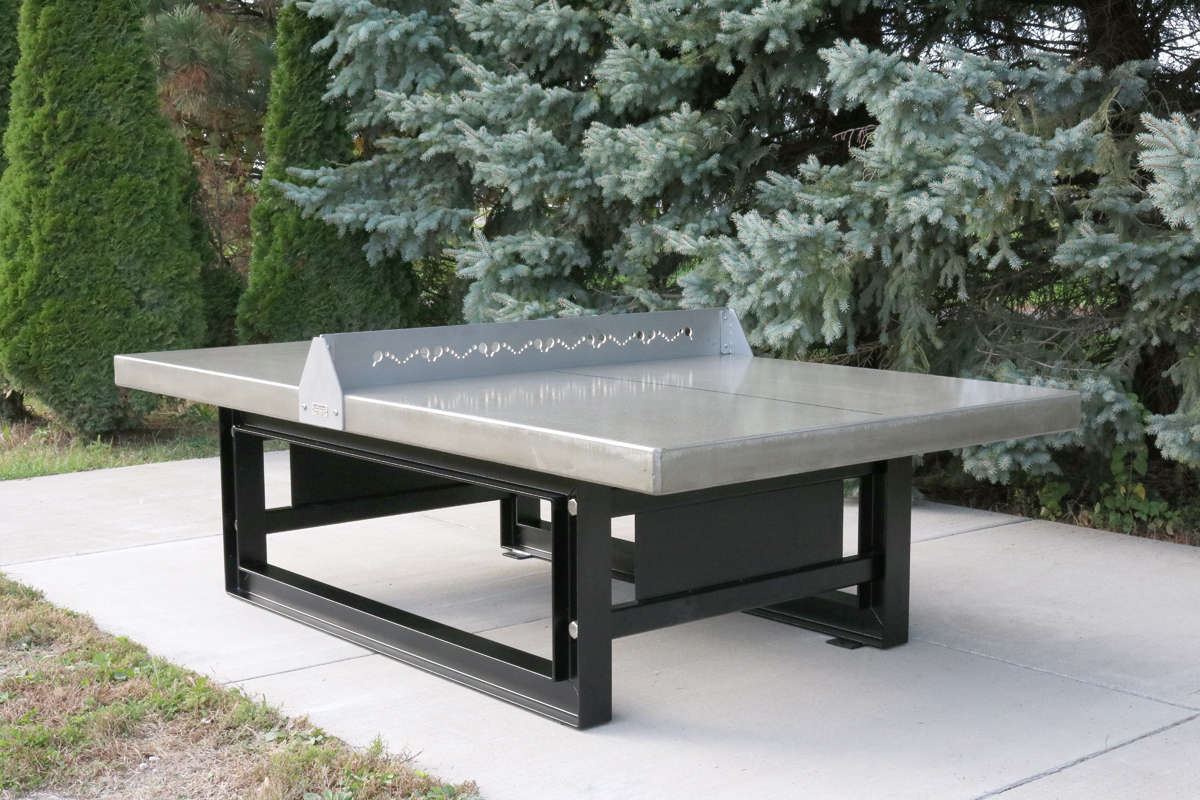 Heavy Duty Outdoor Concrete/steel Tennis Table. T1086035 Concrete/steel Ping  Pong ...