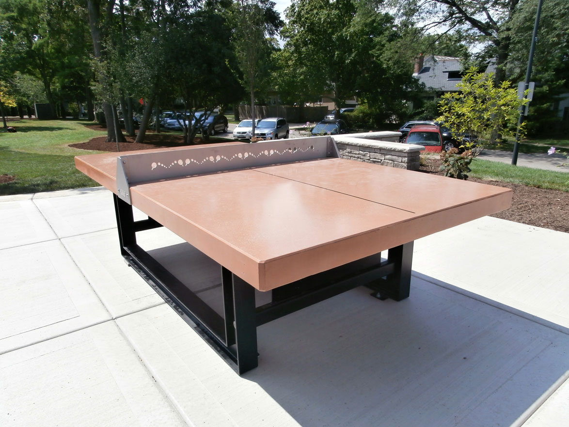 Outdoor Ping Pong Tennis Table