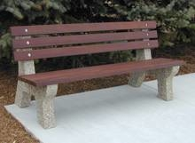 Classic Style Bench with IPE Lumber