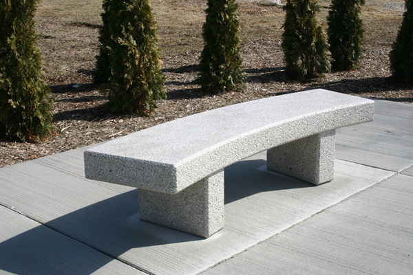 Concrete Bench Seat Outdoor