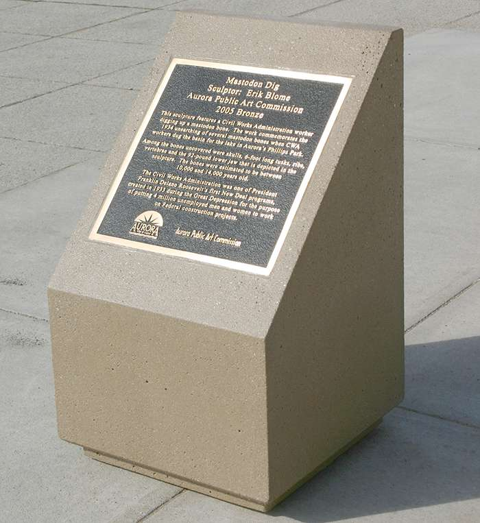 Memorial Plaque Base Mb2245 Doty Concrete