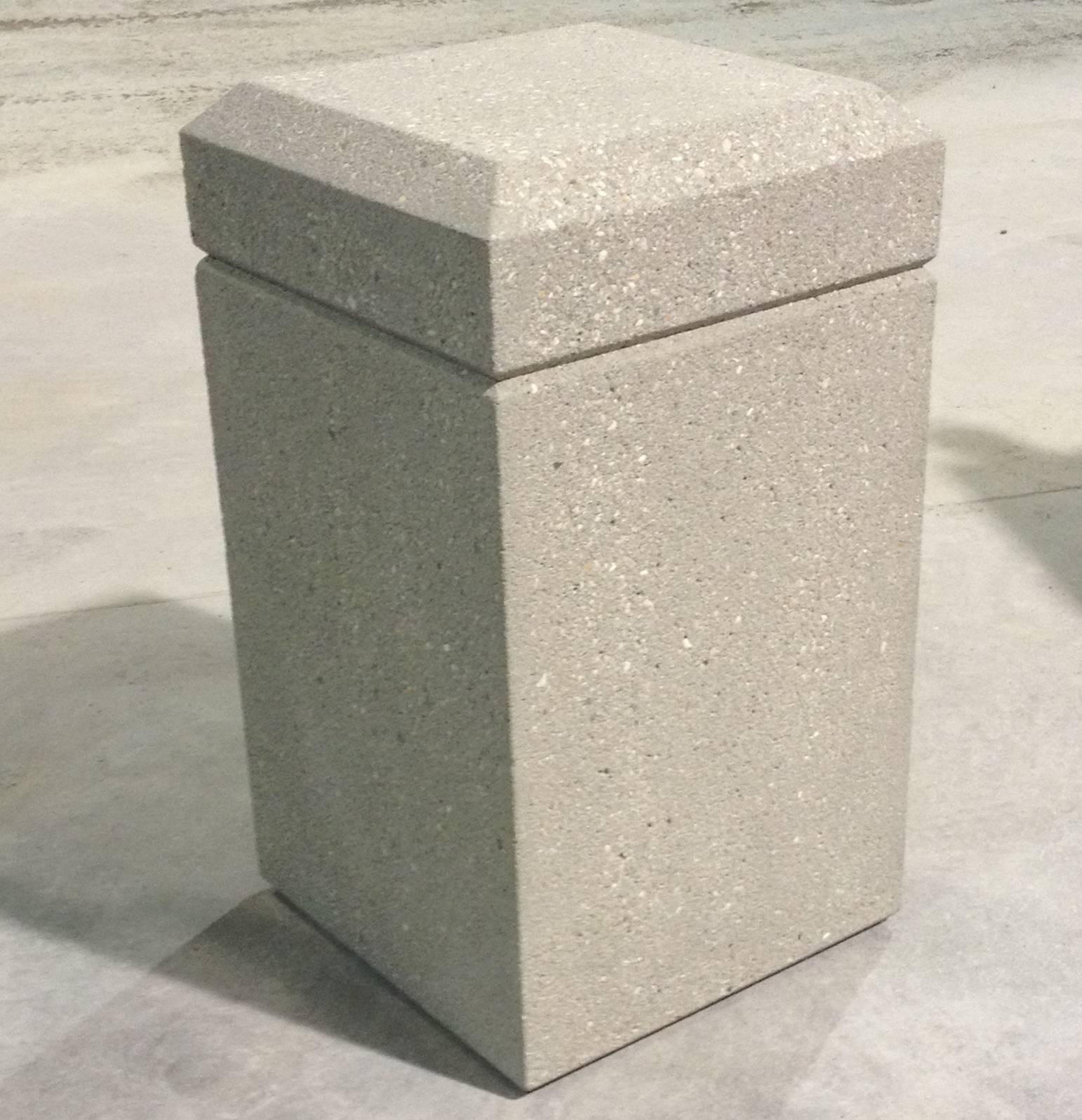 16 Quot Square Bollard B161628 Doty Concrete