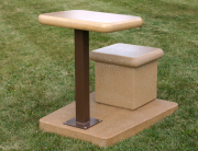 Outdoor Classroom Desk and Seat