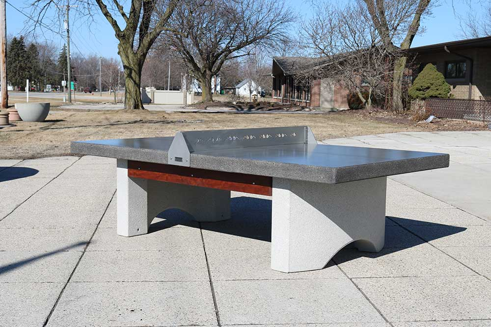 Concrete Table Tennis