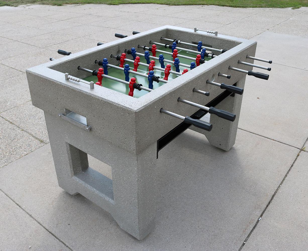 Concrete Foosball Table Doty Concrete